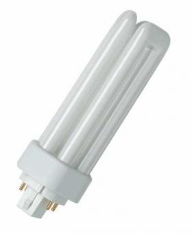 Osram Kompakt-Leuchtstofflampe DULUX T/E 18W/827 PLUS GX24Q / EEK: A