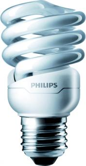 Philips Energiesparlampe Tornado spiral 12W WW E27 220-240V / EEK: A